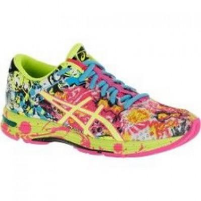 Basket asics chaussure femme courir en soldes 2393