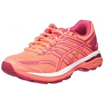 Basket asics femme rose orange destockage 6324