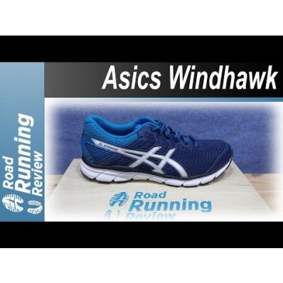 Basket asics gel windhawk homme bleu asics destockage 23114