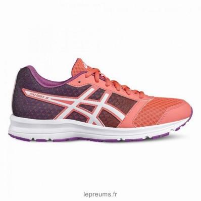 Soldes asics baskets chaussure running patriot 8 femme en soldes 806