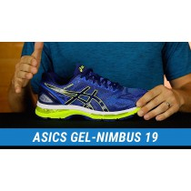 Basket asics gel nimbus 19 homme 42.5 destockage 16850
