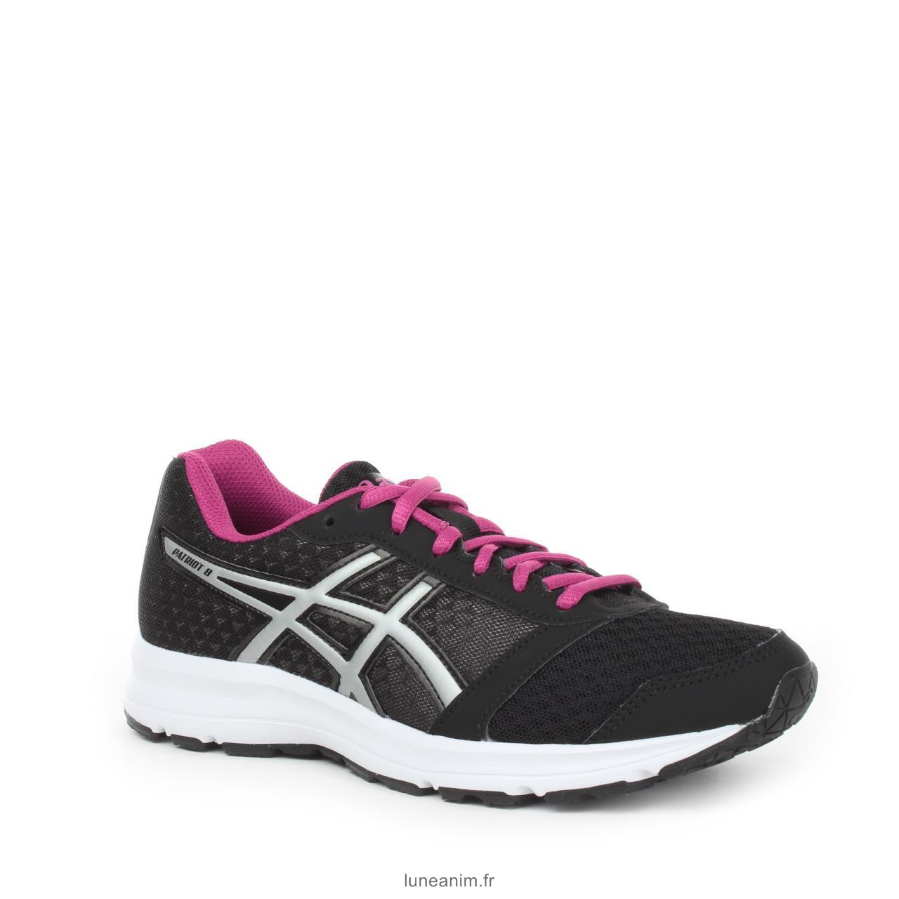 Vente asics baskets chaussure running patriot 8 femme destockage 808